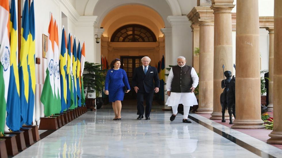 Prime Minister Narendra Modi and Swedish King Carl XVI Gustaf jointly inaugurated the India Sweden High-Level Dialogue.