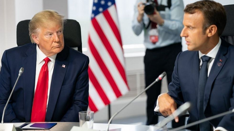 On Monday, the United States threatened to impose tariffs of up to 100 percent on $2.4 billion in French goods.