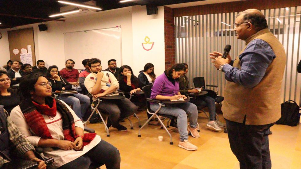 ISPP Organises lecture by Rameesh Kailasam on 'Practitioner's approach to Public Policy'