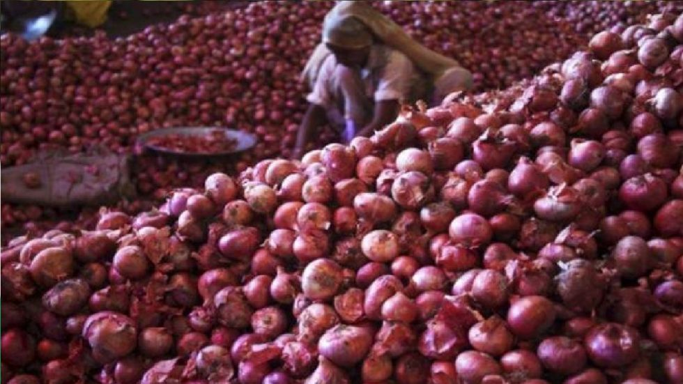 Onions were being sold at a very high price of up to Rs 100 per kg in major cities.