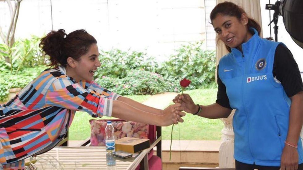 Taapsee Pannu To Play Women's Cricket Team Captain Mithali Raj.