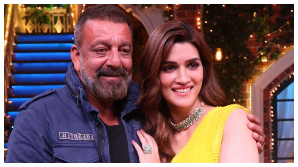 Sanjay Dutt Thinks Kriti Sanon Can Be His 309th Girlfriend