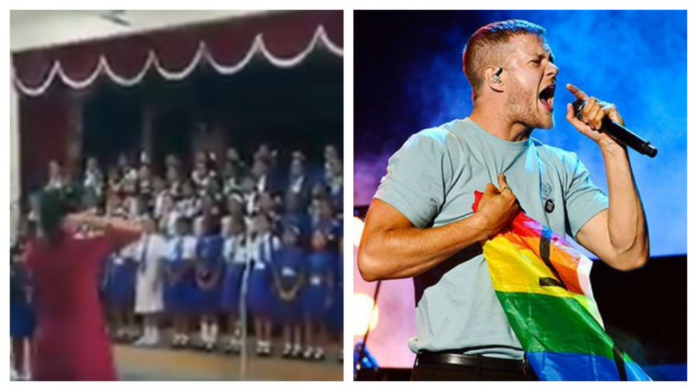 Dan Reynolds Says 'Thank You' To School Choir's Viral Performance Of 'Believer'