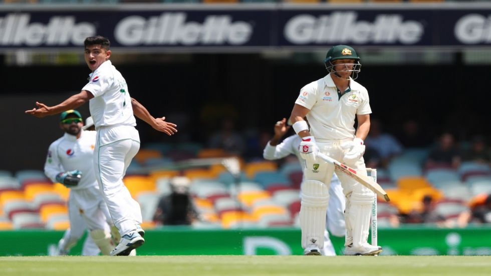 Naseem Shah made his debut in the Brisbane Test and for a 16-year-old, he showed immense pace.