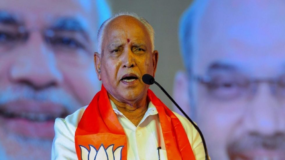 The outcome will determine the fate of Chief Minister BS Yediyurappa-led BJP government.