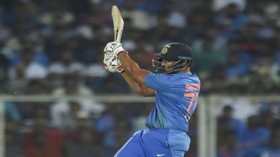 Shivam Dube scored his maiden fifty off just 27 balls as India eyed a big score against West Indies in the second Twenty20 International.