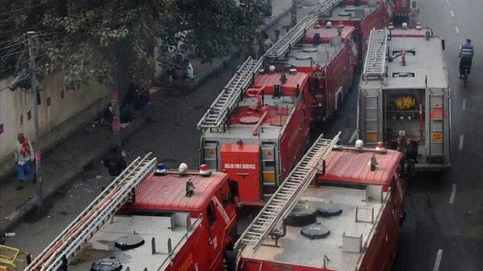 NHRC terms Anaj Mandi fire a 'catastrophe', sends notice to Delhi govt, police chief, North MCD