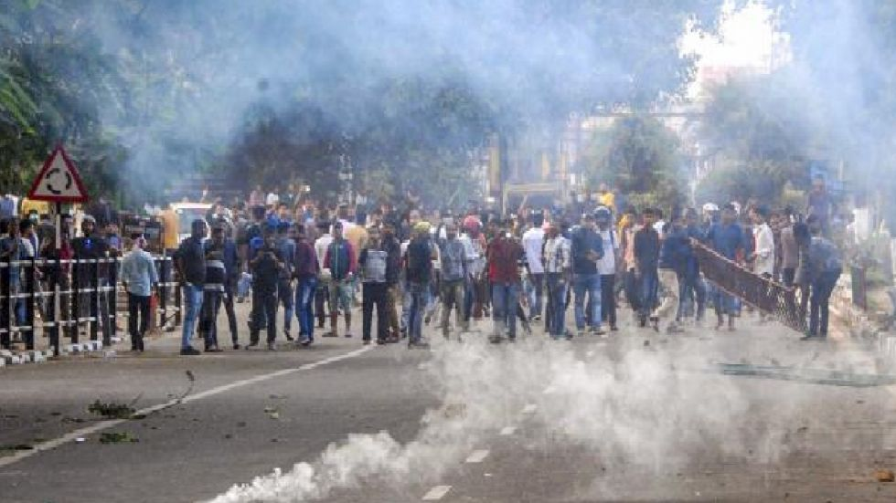 Protest breaks out in Assam