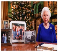 Where Is Prince Harry And Meghan Markle Asks Netzines On Queen Elizabeth's Christmas Photos
