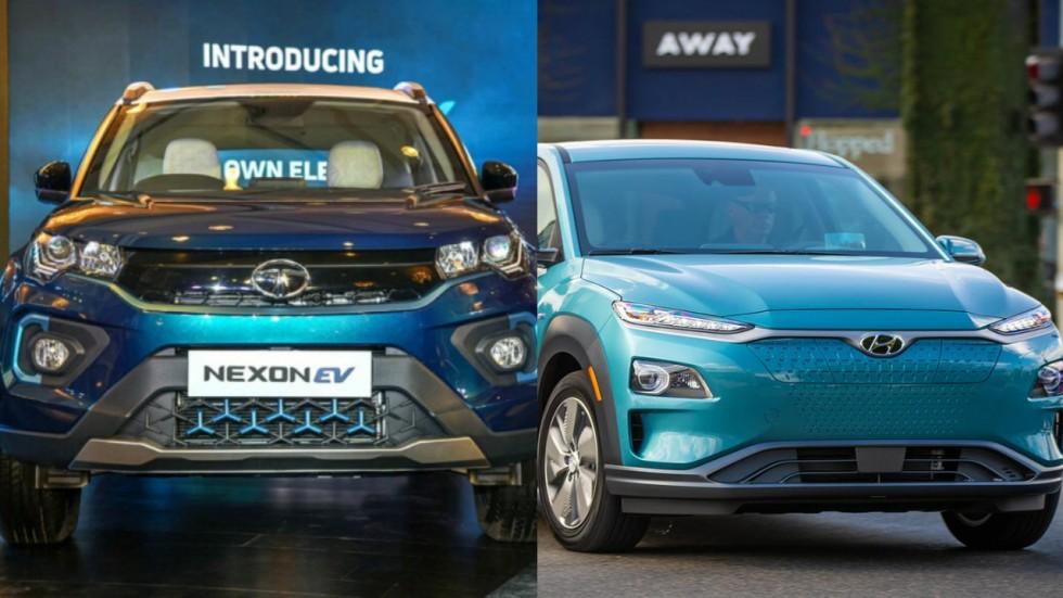 Tata Nexon EV Vs Hyundai Kona Electric