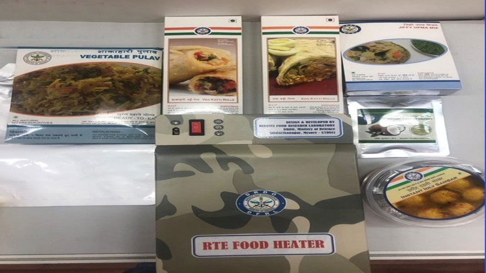 The food has been prepared by the Defence Food Research Laboratory.