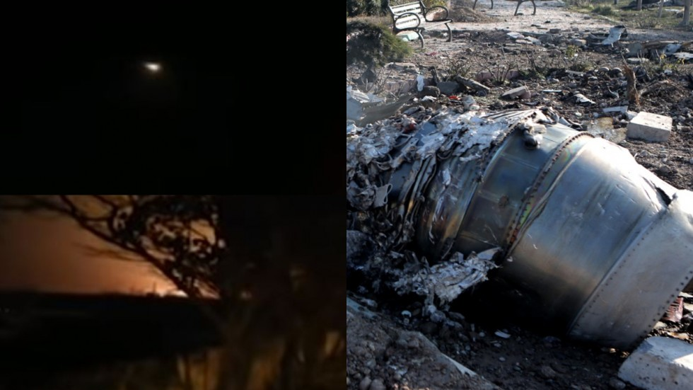 Videos verified by The Associated Press show the final seconds of the jet and what likely brought it down