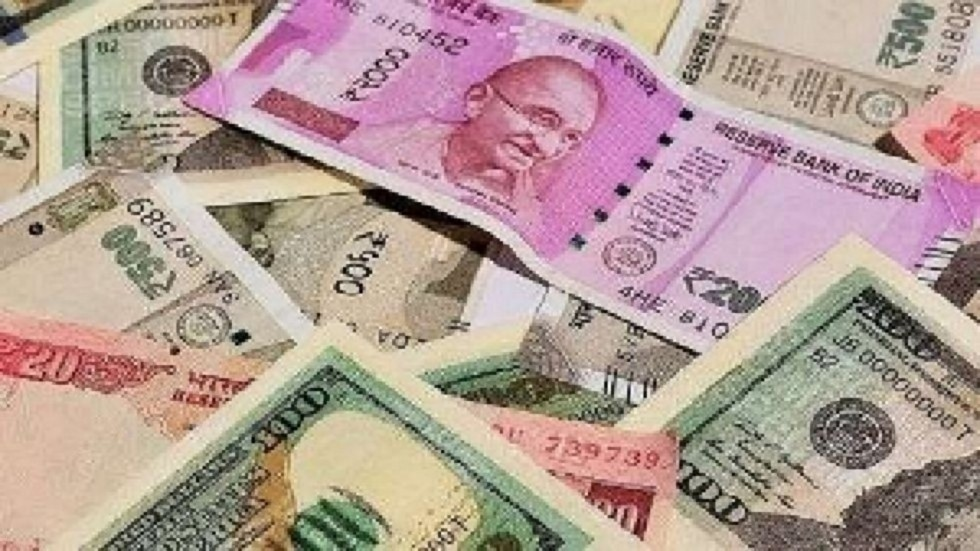 The rupee appreciated by 12 paise to 70.82 against the US dollar in early trade on Monday.