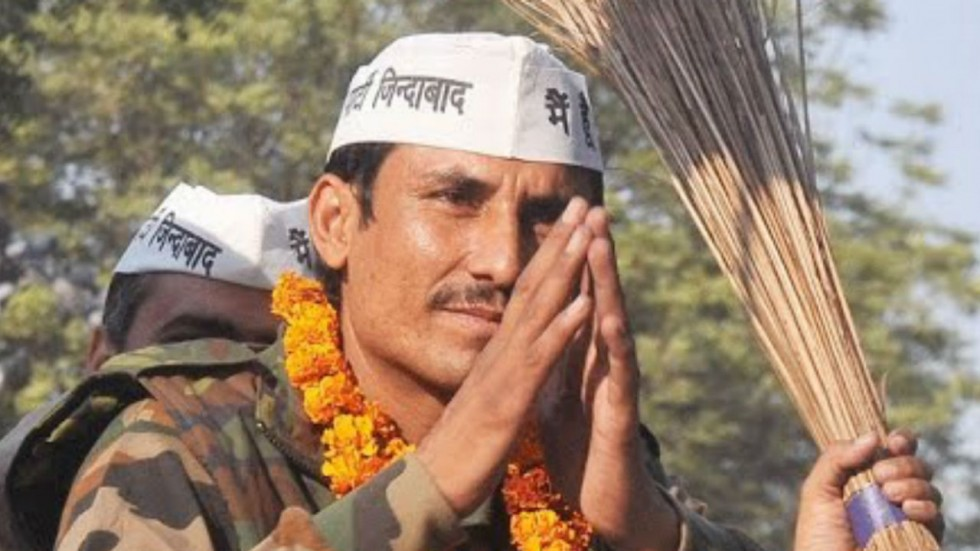 Surender Commando of Delhi Cantt was among the 15 sitting MLAs denied ticket by Aam Aadmi Party