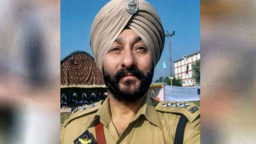 Davinder Singh was awarded the gallantry medal by the erstwhile Jammu and Kashmir state in 2018