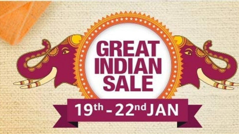 Amazon Great Indian Sale To Begin On January 19