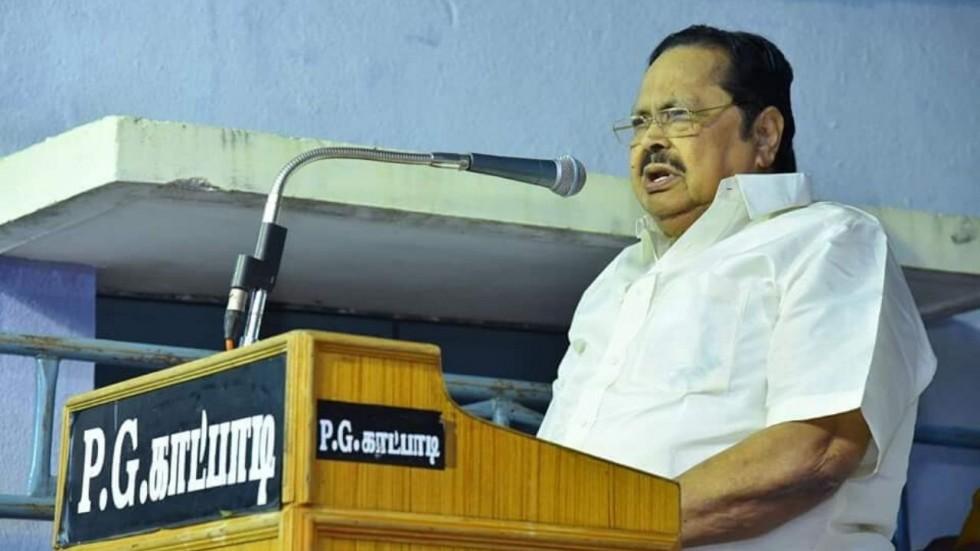 DMK treasurer Durai Murugan
