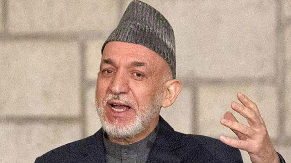 Hamid Karzai was speaking at a session at the Raisina Dialogue.