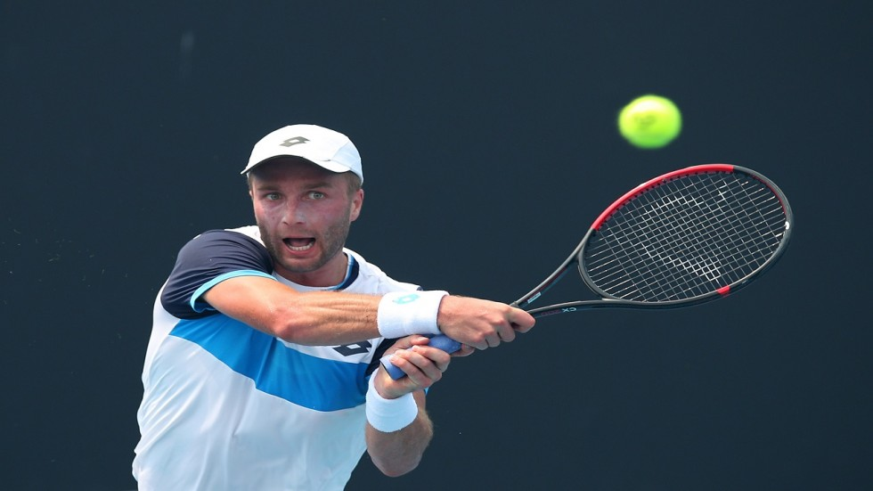 Liam Broady lashed out at Australian Open officials for insisting qualifying take place this week despite toxic smoke from bushfires.