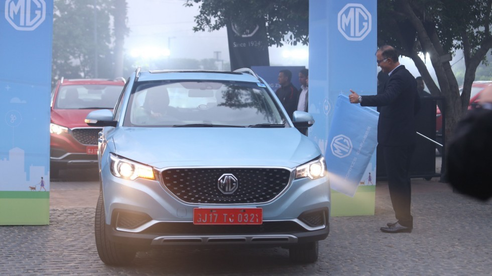 MG ZS EV India Launch On January 27