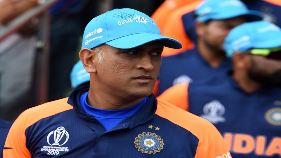 MS Dhoni was not included in the central contracts list as he had not played competitive cricket since July 2019.