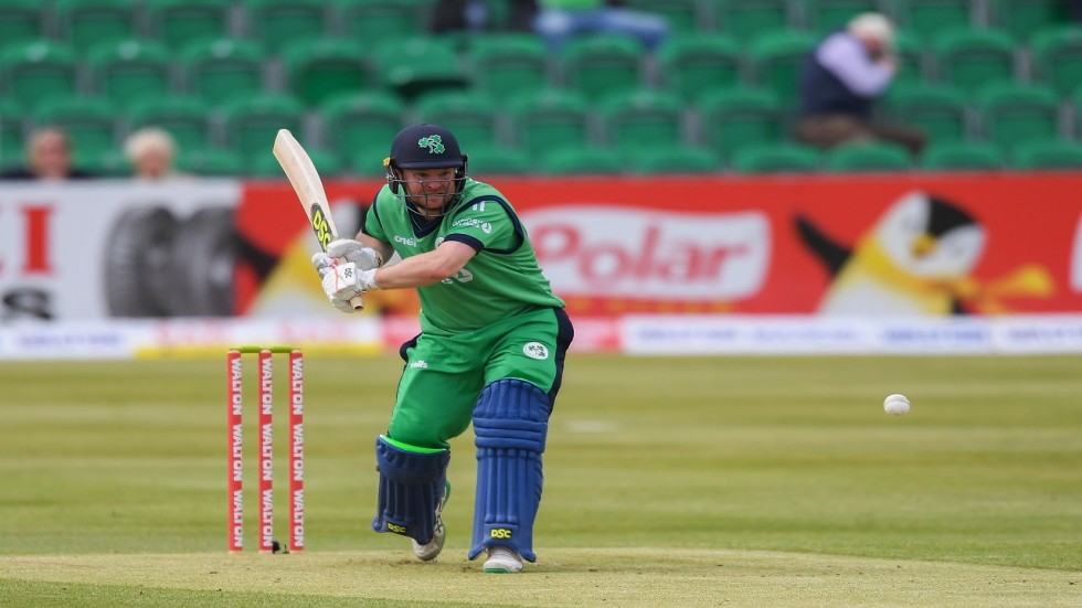 Paul Stirling blasted 95 and helped Ireland win the match by four runs in the Grenada T20I against West Indies.