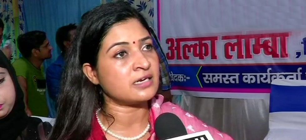 Alka Lamba said that she has decided to break all ties with the AAP. (Image Credit: ANI)