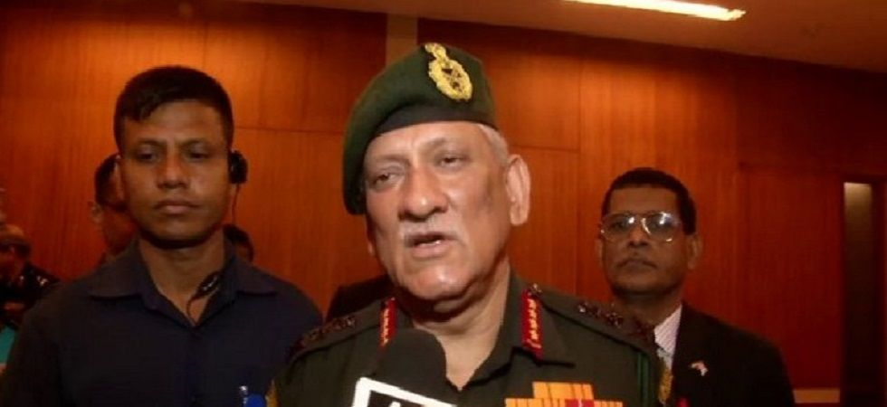 General Bipin Rawat reportedly made this remark at a retiring officer's meeting. (Image Credit: ANI)