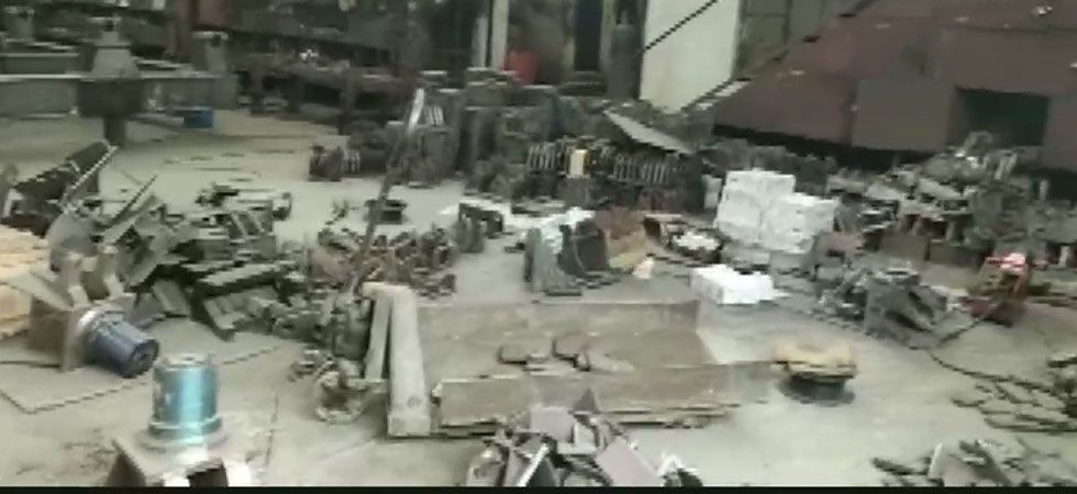An investigation is underway to ascertain what led to the blast. (Image Credit: ANI)