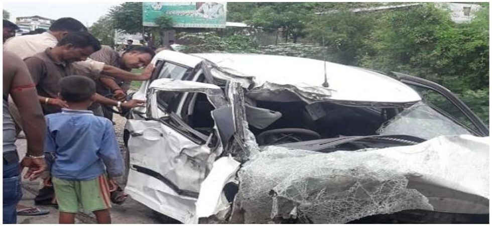 Unnao car accident (Photo Source: News Nation)