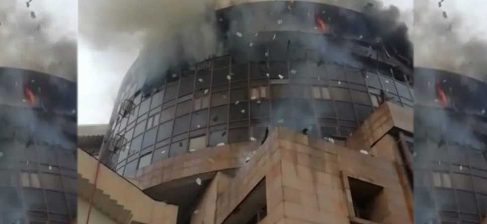 Major fire breaks out in DGHS complex in Delhi's Karkardooma, 22 fire tenders at spot