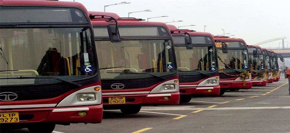 There are 5,500 buses, including of 3,800 of the Delhi Transport Corporation and over 1,600 cluster (orange) buses operated by the Delhi Integrated Multi-Modal Transit System.