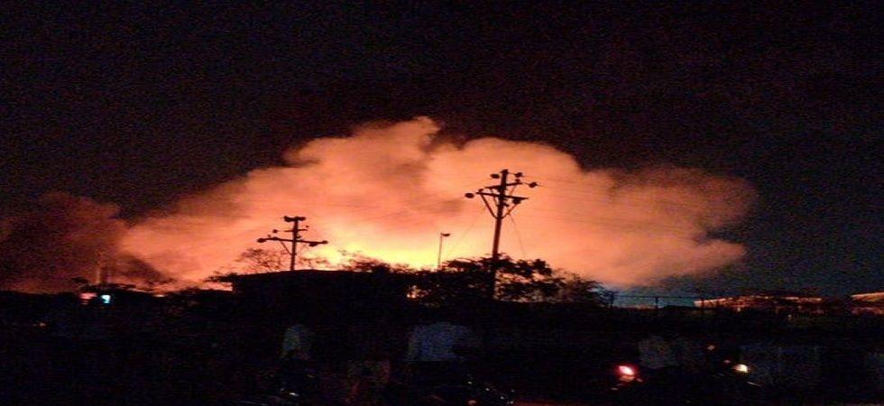 Maharashtra: Massive fire breaks out at company near Pune-Solapur highway