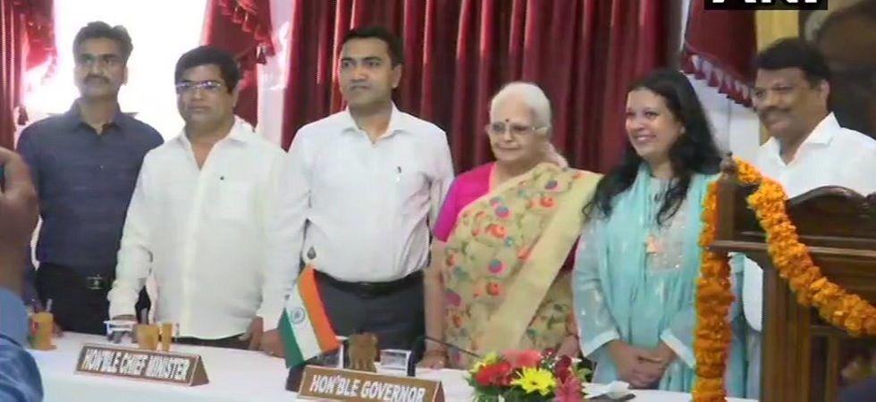 Goa: Congress rebels Filipe Nery Rodrigues, Jennifer Monserratte, Chandrakant Kavlekar take oath as ministers