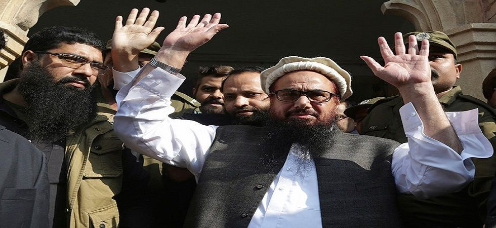 Those named in the cases besides Hafiz Saeed are his brother-in-law Abdul Rehman Makki, Ameer Hamza and Muhammad Yahya Aziz. (File Photo: PTI)