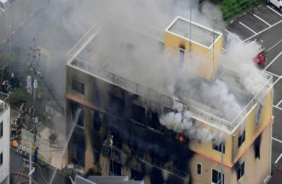 24 dead, 38 injured after man invades, starts fire at famous animation studio in Japan's Kyoto