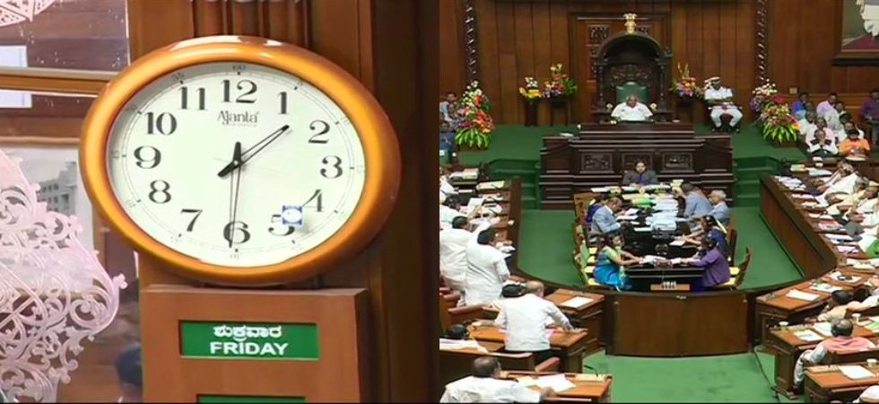 Karnataka: As Governor's 1:30 pm deadline ends, Speaker says 'can't force us for trust vote'