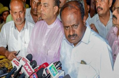 Suspense over Kumaraswamy's resignation as CMO denies seeking appointment with Governor