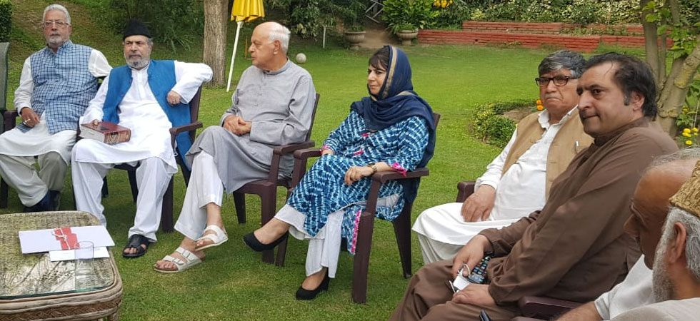 J&K: Leaders of political parties hold meeting at Farooq Abdullah's residence over prevailing situation