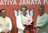 Former Samajwadi Party MP Neeraj Shekhar joins BJP