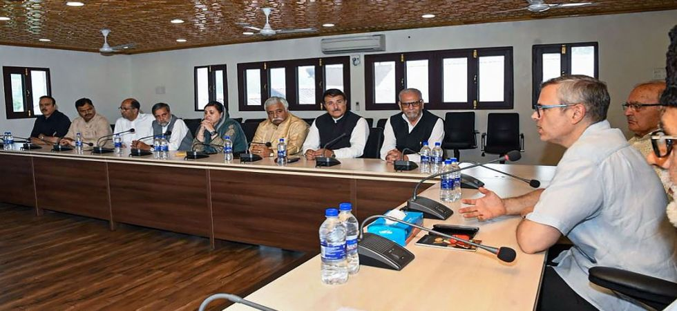 National Conference meeting in Jammu and Kashmir (Photo Source: PTI)