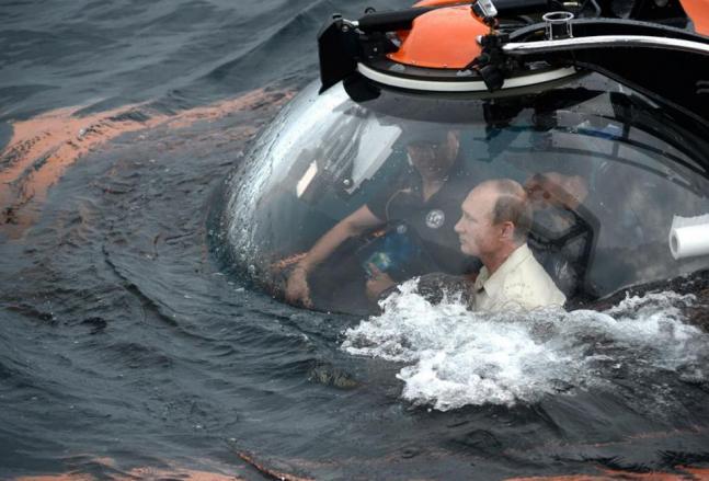 The many adventures of Vladimir Putin!