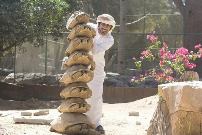 Arab Man With His Exotic Pets News Nation