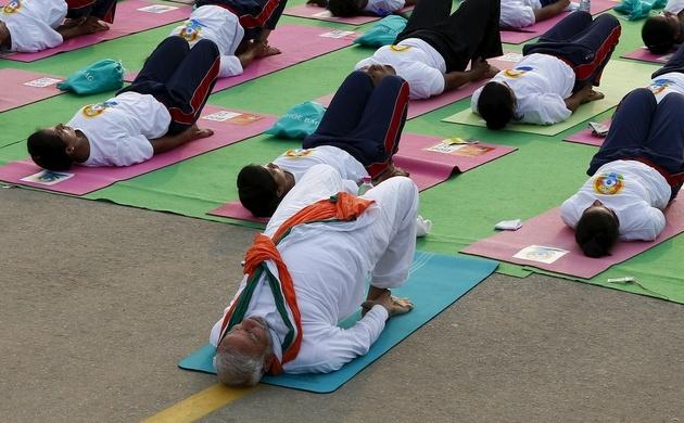 A lookback at last year's International Yoga Day