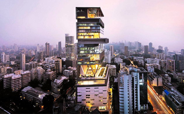 India costliest building Take a look inside Ambani's Antilia