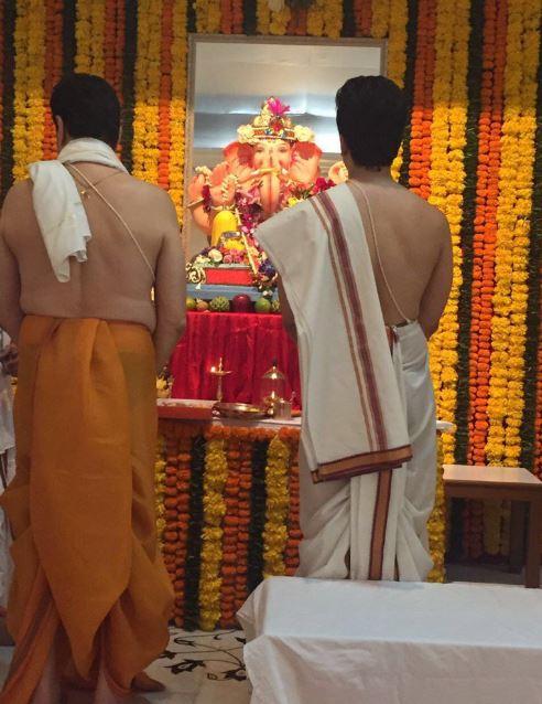 B-Town celebs welcome lord Ganesha