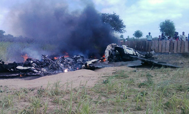 MiG 21 crashes in Rajasthan, pilot safe