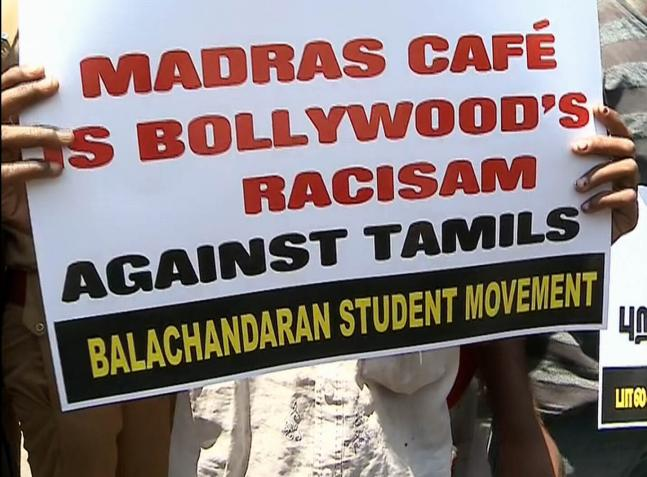 Protests against 'Madras Cafe'