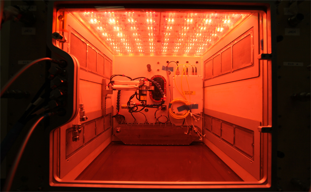 NASA's 'largest plant chamber' tested at Kennedy Space Center before International Space Station delivery