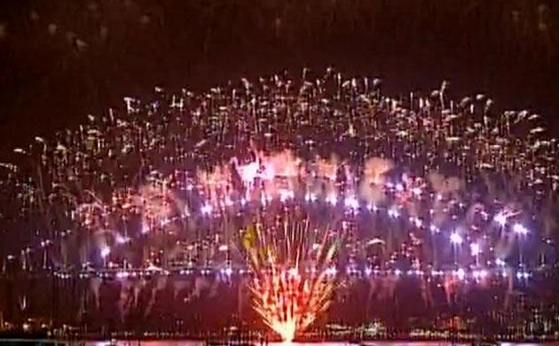 In pictures: World welcomes New Year 2017